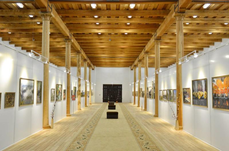 Цейхгауз, зал, выставка