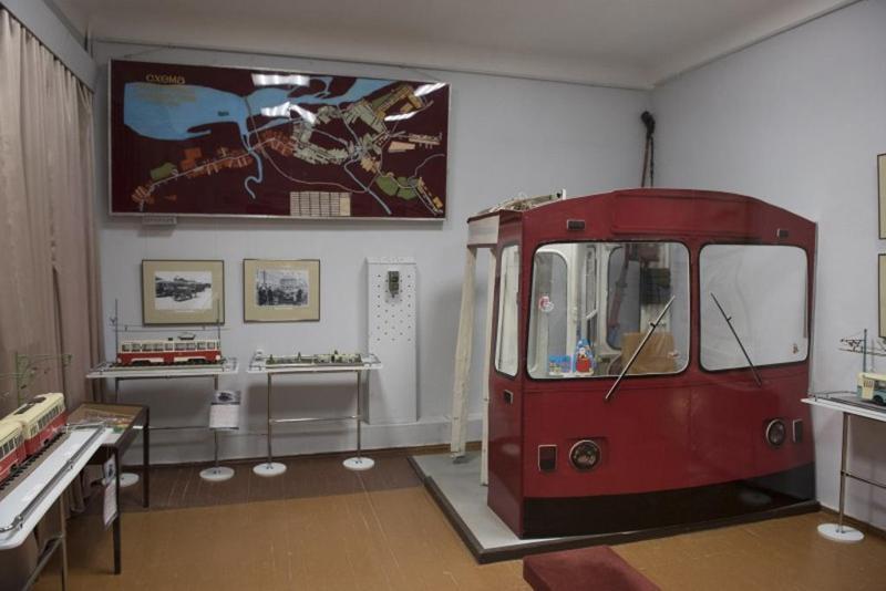 Музей истории города, трамваи, троллейбусы, электротранспорт