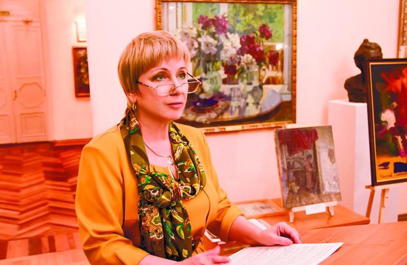 Картинная галерея, Ирина Перова, Догадинка,