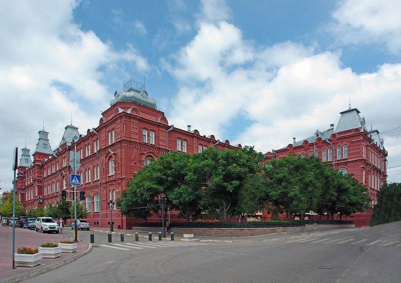краеведческий музей, музей-заповедник, архитектура, вид, главная,