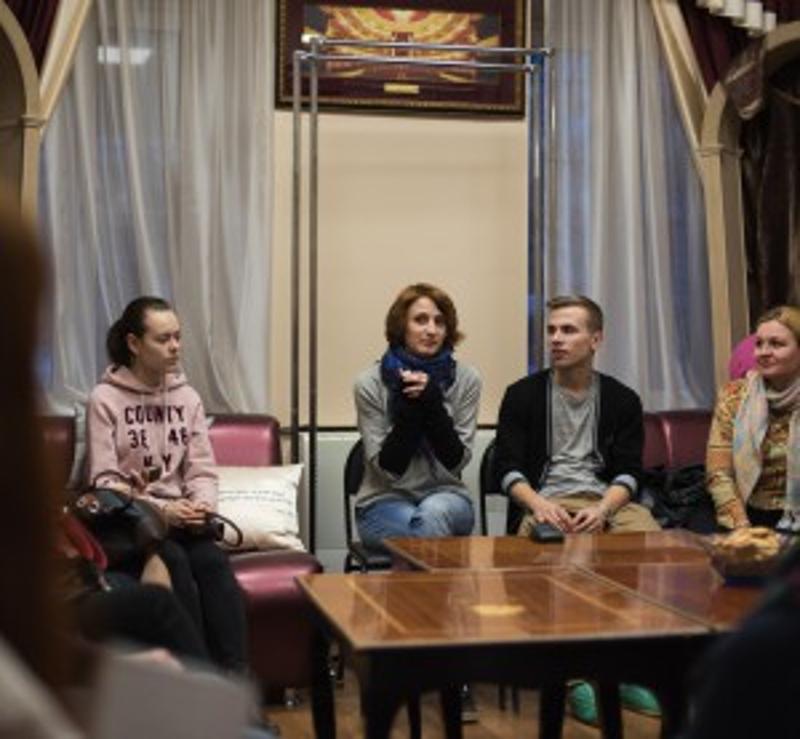 Дом Актёра, Независимый проект, Баженова, пресс-конференция