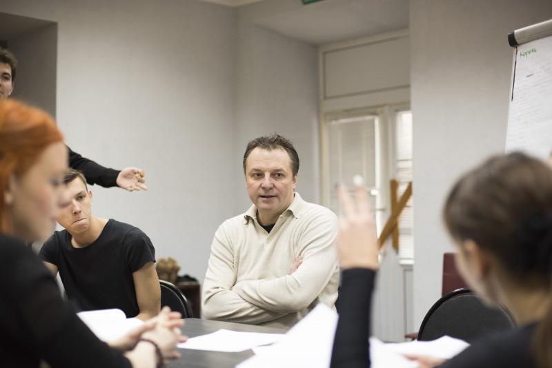 актеры, студенты театрального отделения, консерватория, Тараскин