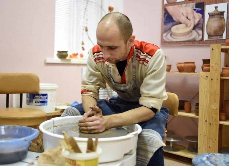 Дом ремёсел, лепка из глины, гончарное ремесло