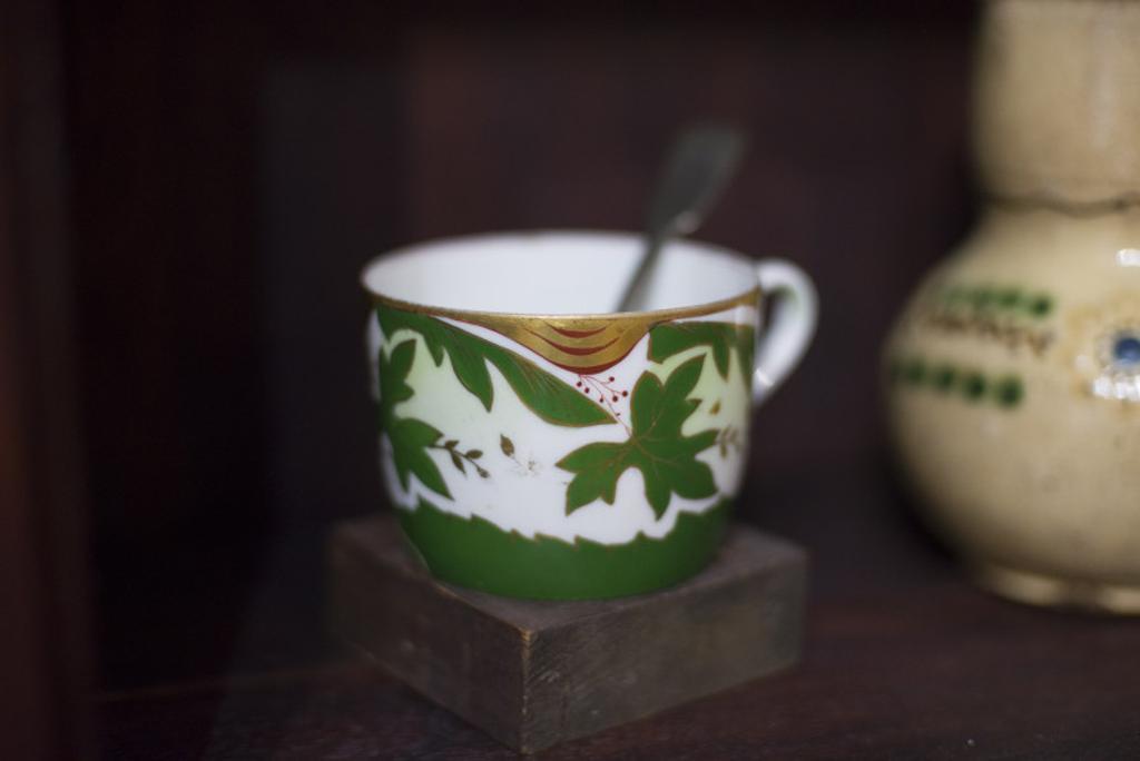 Дом-музей Велимира Хлебникова, чашка