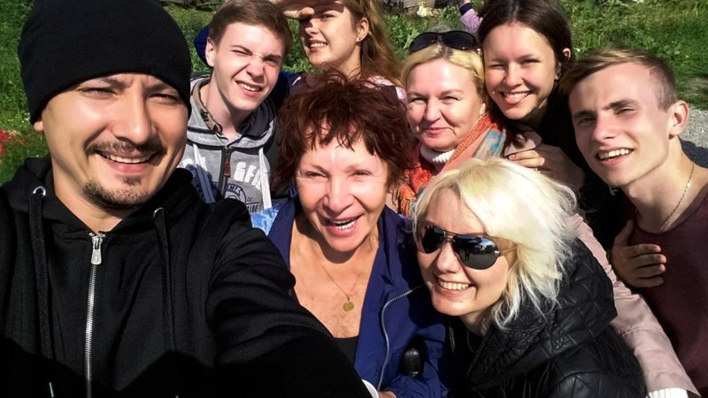 С живой легендой Коляда-театра Тамарой Зиминой