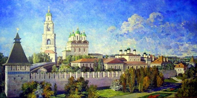 Астраханский кремль, живопись
