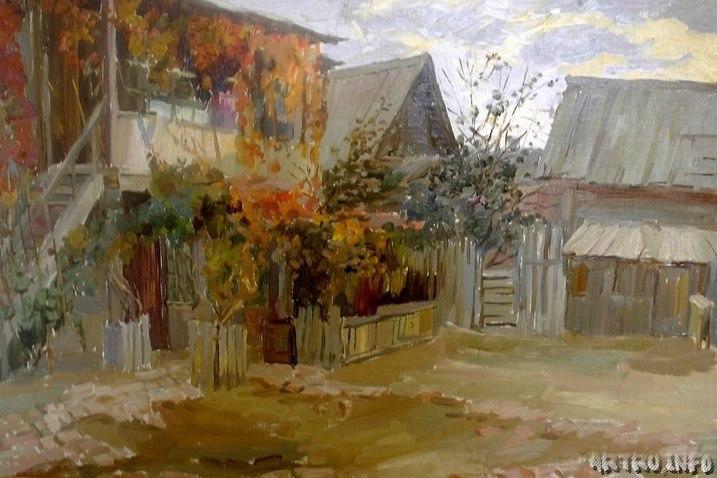Астраханский дворик