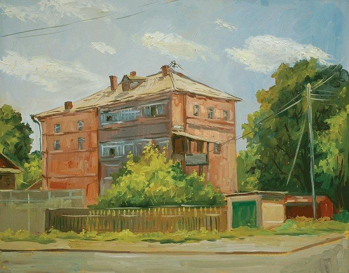 """Астрахань. Красный дом"". 2004 г."