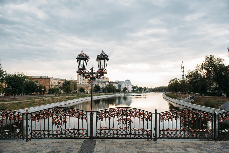 мост влюбленных астрахань