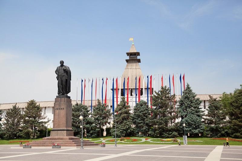 площадь Ленина, Астраханский кремль