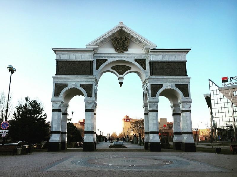 Триумфальная арка в Астрахани