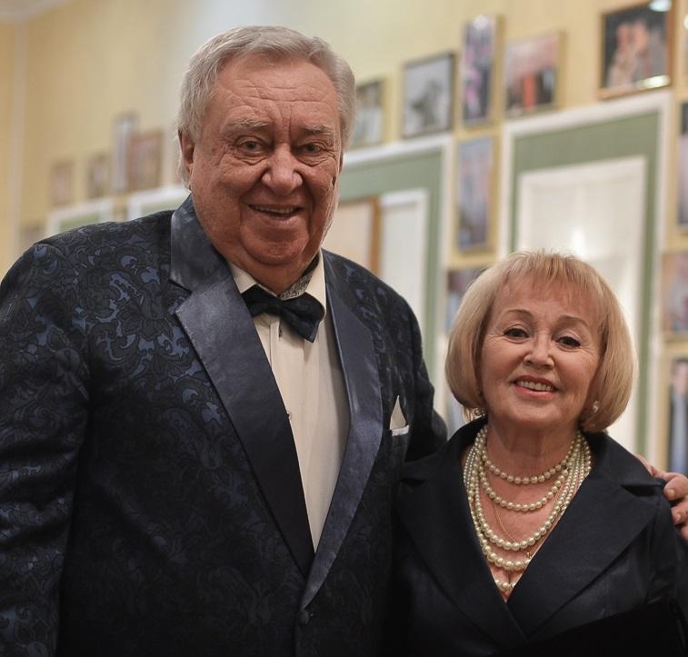 Юрий Кочетков с Валентиной Заворотнюк