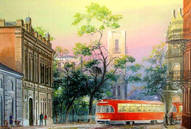 Юрий Анискин, трамвай